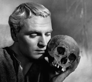 Laurence Olivier as Hamlet in the 1946 film